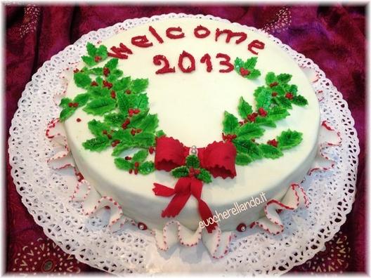 Torta Con Stella Di Natale.Torta Natale 2012 Stella
